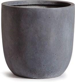 Bloembak Egg pot authentiek grijs 42 x 41 cm Mc light MCollections
