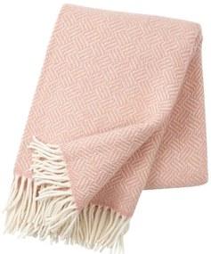 Klippan - Plaid Lamswol Samba - Roze