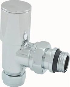 Korver Riko radiator ventiel 1/2x15 knel haaks 43.3527