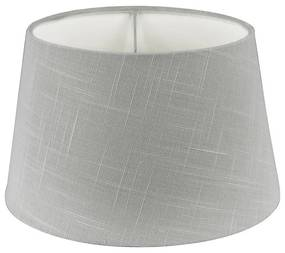 Lampenkap linnen - grijs - 23 cm