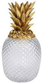 Kare Design Pineapple Visible Ananas Glas En Goud