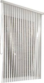 Rolgordijn 128x240 cm, wit