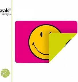 Smiley Classic Placemat - 45 x 30 cm Tweezijdig - Raspberry