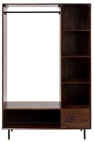 Kare Design Ravello Open Kledingkast Van Sheesham - 120x45x185cm.