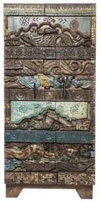Kare Design Shanti Surprise Puzzle Unieke Wandkast - 85x45x180cm.