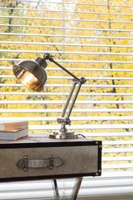 Bureaulamp JEFFERSON - Nikkel