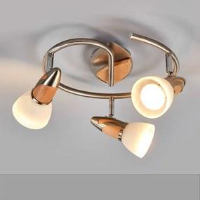 Marena - LED-plafondlamp, 3-lamps - lampen-24