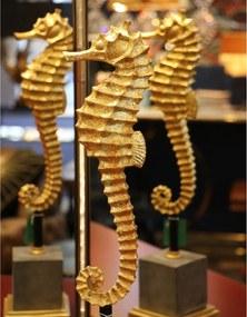 Kare Design Sea Horse Beeld Gouden Zeepaard