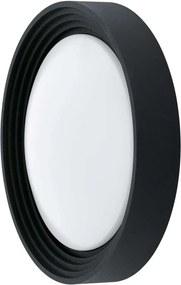 EGLO wandlamp Ontaneda LED - zwart/kunststof - Leen Bakker