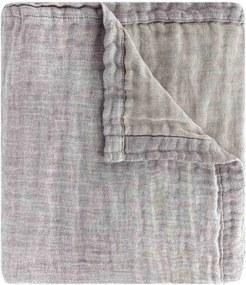 Sprei Tarifa grijs, linnen-katoen, 1 persoons