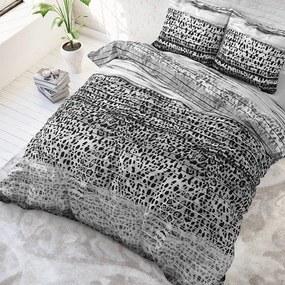 Sleeptime Elegance Panther Style - Grijs 1-persoons (140 x 220 cm + 1 kussensloop) Dekbedovertrek