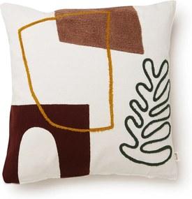 Ferm Living Mirage Cushion Leaf sierkussen 50 x 50 cm