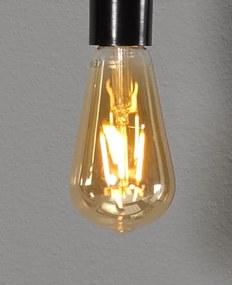 Tutto led lamp e27 1800k 380l peervormig amber