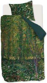 Beddinghouse Trees katoensatijn dekbedovertrekset - inclusief kussensloop