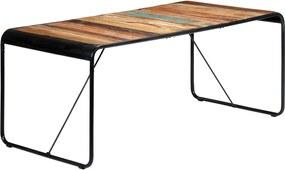 Eettafel 180x90x76 cm massief gerecycled hout
