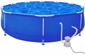 Rond zwembad 360 x 76 cm met filterpomp 1165 l / h