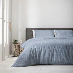Fresh & Co Squared - Jeans Blauw 1-persoons (140 x 220 cm + 1 kussensloop) Dekbedovertrek