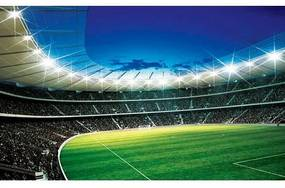 HOME AFFAIRE fotobehang »Voetbalstadion«, 254x184 cm