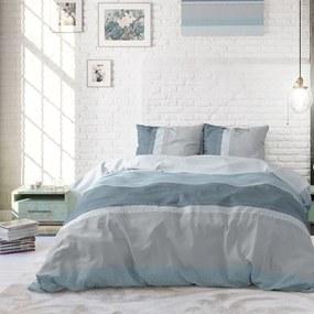 Sleeptime Elegance Tony - Blauw 1-persoons (140 x 220 cm + 1 kussensloop) Dekbedovertrek
