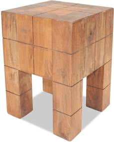 Kruk massief gerecycled hout