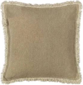 Heckett & Lane kussenhoes Orville - beige - 50x50 cm - Leen Bakker