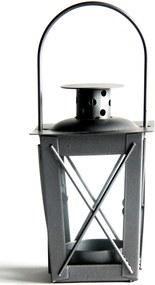 Konische lantaarn h8x5,5cm antra.
