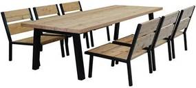 Elbo Low Dining Tuinset 6-persoons