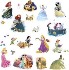 Muurstickers Disney Prinsessen vinyl 22 stuks