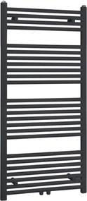 Best Design Zwart Zero radiator recht model 1200x600mm 4008780