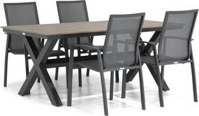 Lifestyle Ultimate/Forest 180 cm dining tuinset 5-delig