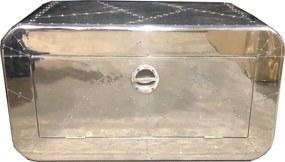 Aluminium Schoenenkast 45 Cm - 85x40x45cm.