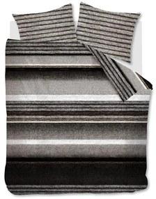Rivièra Maison - RM Mohair Duvet Cover brown 200x200/220 - Kleur: bruin