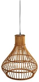 Bamboe hanglamp - lichtbruin - ⌀35.5x43 cm