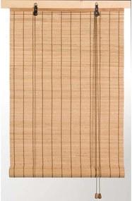 Rolgordijn Bamboe - naturel - 60x130 cm - Leen Bakker