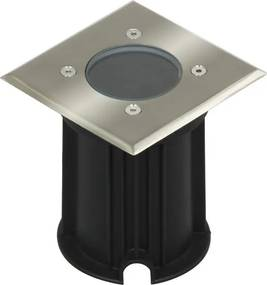 LED Grondspot Tuinverlichting 3W Waterdicht IP65, Vierkant, Warm Wit