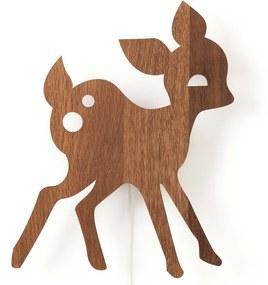 Ferm Living My Deer wandlamp eiken