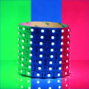 RGB LED Strip, 5 Meter, 14.4 Watt/meter, 5050 LED's