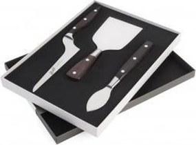Berkel - Kaasset inclusief snijplank - Set van 3 messen POM - Zwart