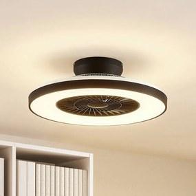 Orligo LED plafondventilator, mat zwart - lampen-24