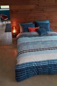 Beddinghouse   Dekbedovertrekset Jools lits-jumeaux xl: breedte 260 cm x lengte 200/220 cm blauw dekbedovertrekken geborstelde   NADUVI outlet