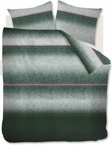 At Home By Beddinghouse   Dekbedovertrekset Camden Town lits-jumeaux: breedte 240 cm x lengte 200/220 cm + groen dekbedovertrekken   NADUVI outlet
