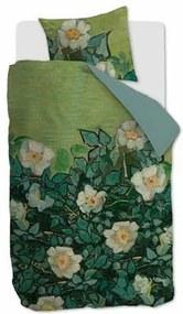 X Van Gogh Wild Roses Dekbedovertrek 140 x 200/220 cm
