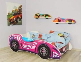 Peuterbed Top Beds F1 140x70 Sweet Car Inclusief Matras