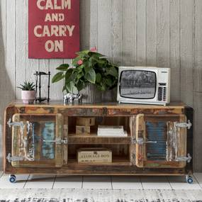 TV-meubel Van Sloophout - 135x40x56cm.