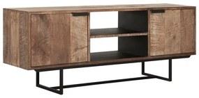 DTP Home Odeon TV-meubel Van Teakhout 150 Cm - 150x40x60cm.