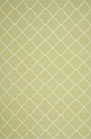 Safavieh | Handgeweven vloerkleed Darien 120 x 180 cm lichtgroen, ivoor vloerkleden wol, katoen vloerkleden & woontextiel | NADUVI outlet