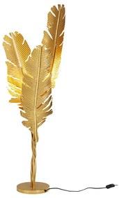 Kare Design Akile Vloerlamp Gouden Veren