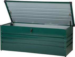 Kussenbox staal donkergroen 165x70 cm CEBROSA