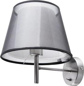 Wandlamp grijs/zwart COLUMBIA