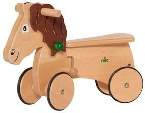 Loopwagen Combicar Paard Hout 26 Cm